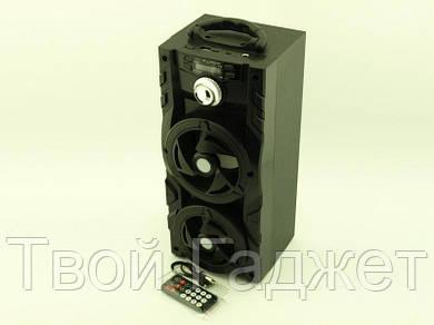 ОПТ/Розница Колонка-чемодан активная 10W с Bluetooth/USB/SD/FM/AUX, караоке и светомузыкой KB-510BT