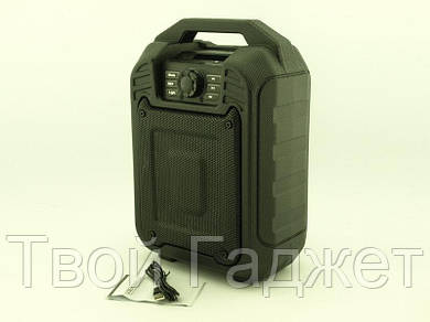 ОПТ/Розница Колонка-чемодан активная с Bluetooth/USB/SD/FM/AUX, караоке и светомузыкой B15