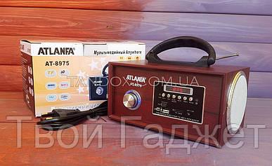 ОПТ/Розница Колонка от сети с USB, SD, FM-приемником ATLANFA AT-8975