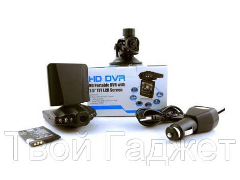 ОПТ/Розница Видеорегистратор автомобильный DVR 198 с ночной съемкой