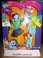 Кукла My Little Pony Equestria Girls Rainbow Dash Doll and Pony Set Радуга Деш и пони
