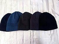 Мужская шапка с подкладкой флис
