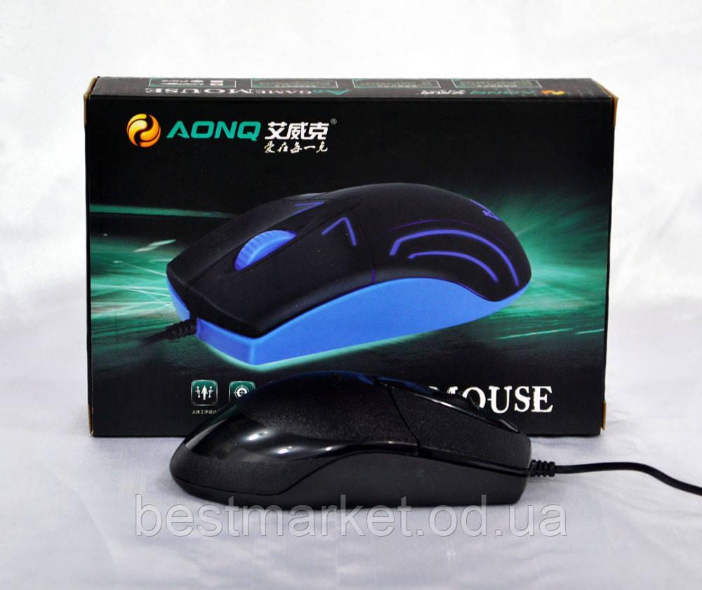 Мышка компьютерная проводная A6 USB