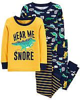Пижама Картерс (Carters) для мальчика 2Т рост (88-93 см) синяя