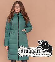 Куртка зимняя женская Braggart Simply - 1938 зеленая