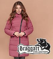 Куртка длинная женская Braggart Simply - 1908 розовая