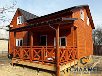 Строительство каркасного дома, фото 1