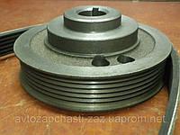 Шкив SENS 1,3 к/вала с гидроусилителем (ручейк.), 307-1005060 (АвтоЗАЗ)