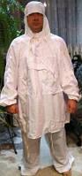 Маскировочный халат белый зимний (ХБ).