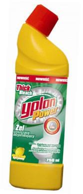 Гель для чистки унітазів лимон 1л YPLON , фото 2