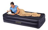 """Надувная односпальная кровать""""Twin Rising Comfort"""" """"Intex"""" 102 х 203 х 50 без насоса"""
