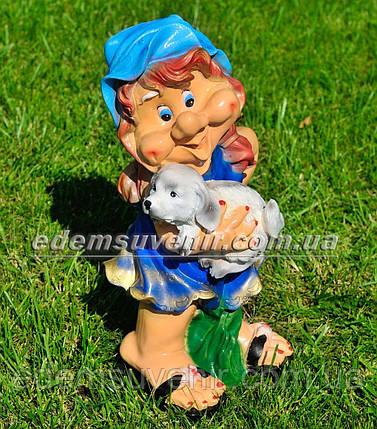 Садовая фигура Синеглазка, фото 2