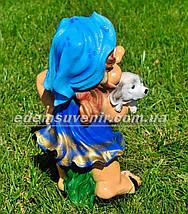 Садовая фигура Синеглазка, фото 3