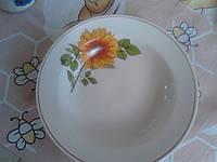 Тарелка для первых блюд Украина. Сертификат.