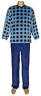 Пижама мужская махровая 18201 Grafika вельсофт для сна и дома, р.р.42-56