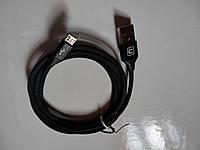 MicroUSB кабель Cafele, довжина 1.2 м., пропускає 2.1А.