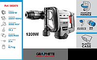 Перфоратор (бетонолом) SDS max 1200 Вт, GRAPHITE 58G876., фото 1