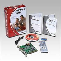 TV-Tuner KWorld DVB-S100SE, внутренний, цифровой, ДУ, Teletext/EPG/PIP/Time-Shifting/S.R.P.O, MPGE2, PCI (Satellite)
