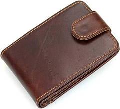 Кредитница мужская Vintage 14509 кожаная коричневая