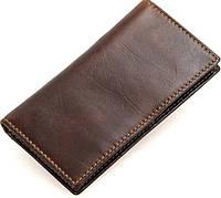 Кредитница Vintage 14512 кожаная коричневая