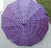 Зонт-трость  атласный Горохи, фото 2