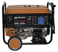Генератор электричества Daewoo GDA 6500E (5,5 кВт)