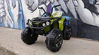 Электро Квадроцикл 4x2 зеленый (хаки)