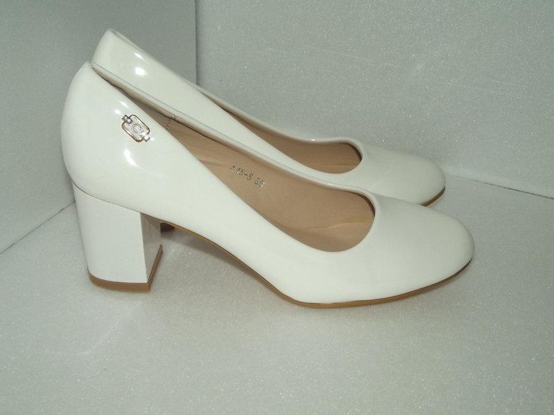 0a4a300a67ad Женские белые лаковые туфли. р. 37 - 41  продажа, цена в Александрии ...