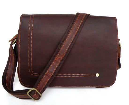 Сумка мужская Vintage 14079 коричневая