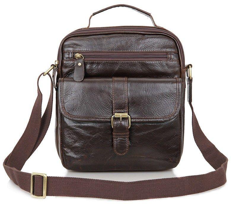 Сумка мужская Vintage 14104 коричневая