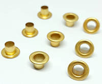 Люверс 3.5 мм золото