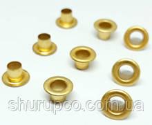 Люверс 3.5 мм золото (100 шт/уп)
