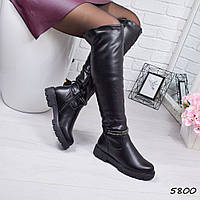 Сапоги женские Ada черные, фото 1