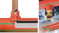 Трубы и фитинги для спринклерных систем пожаротушения Aquatherm red pipe (Firestop)