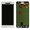 Дисплей (экран) для Samsung A300H Galaxy A3 (2015), A300F + тачскрин, белый, TFT