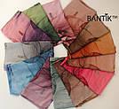 """Турецкий шарфик из хлопка """"Стелла"""" (коричневый), фото 4"""