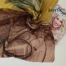 """Турецкий шарфик из хлопка """"Стелла"""" (коричневый), фото 2"""
