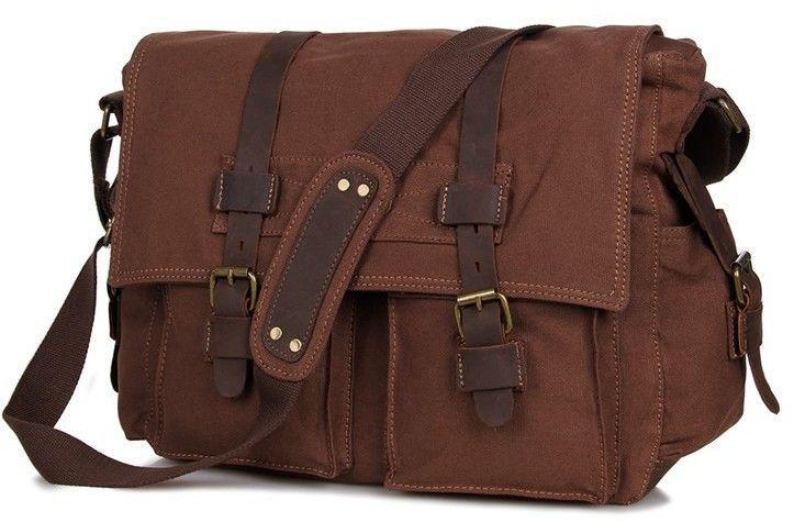 Сумка мужская Vintage 14213 коричневая