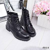 Ботинки женские Emily черные, фото 1