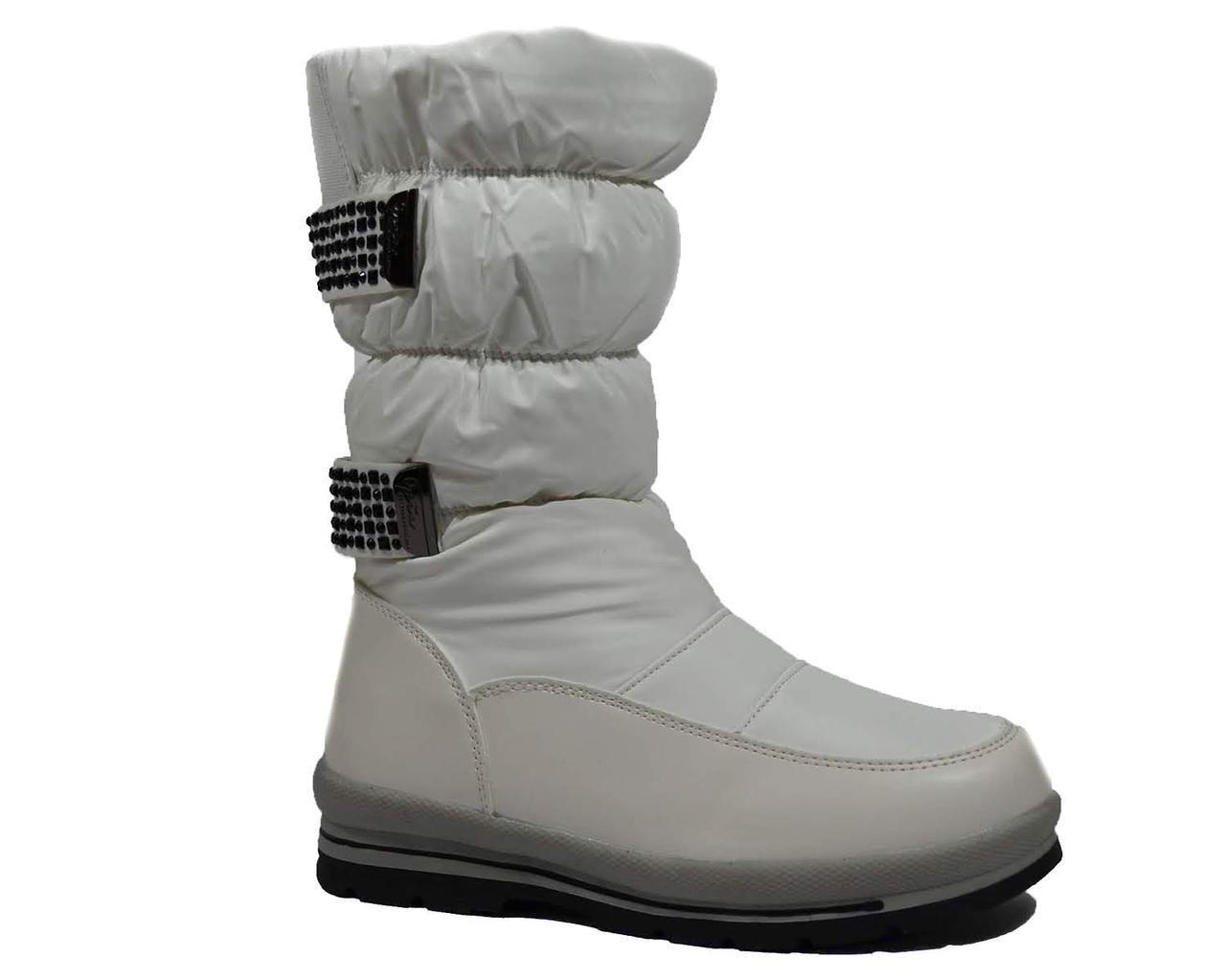 ccdb05ac7 Дутики, зимние сапоги для девочки подростка, TOM.M белый, 33-38 ...