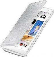 Чехол Melkco Leather Case Jacka Face Cover Book White for HTC One SV C520e (O2ONSTLCFB2WELC)