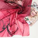 """Турецкий шарфик из хлопка """"Стелла"""" (розовый), фото 2"""
