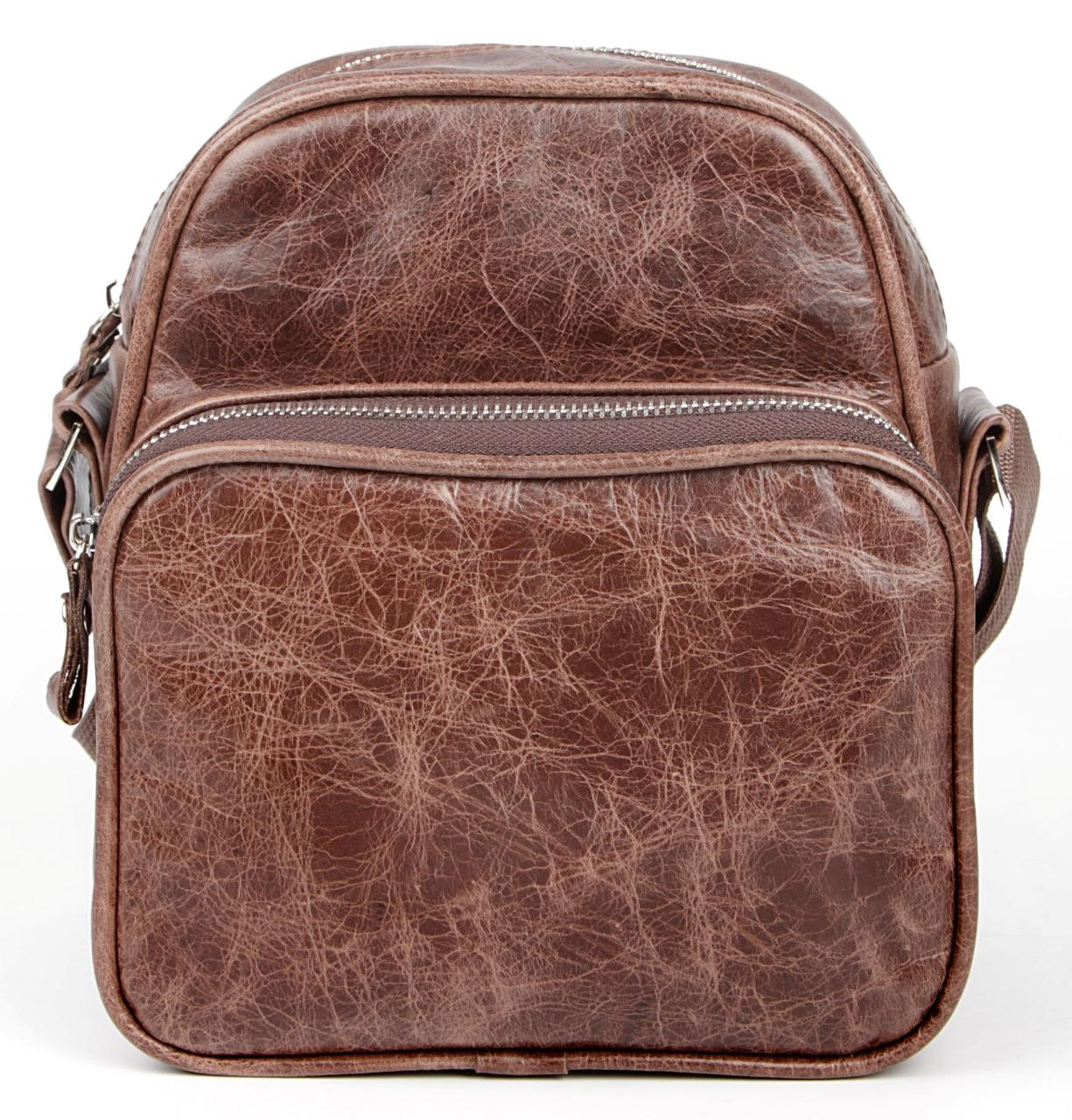 Сумка мужская SHVIGEL 00904 коричневая