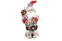 Фигурка Санта Клаус с фонариком.  30 см