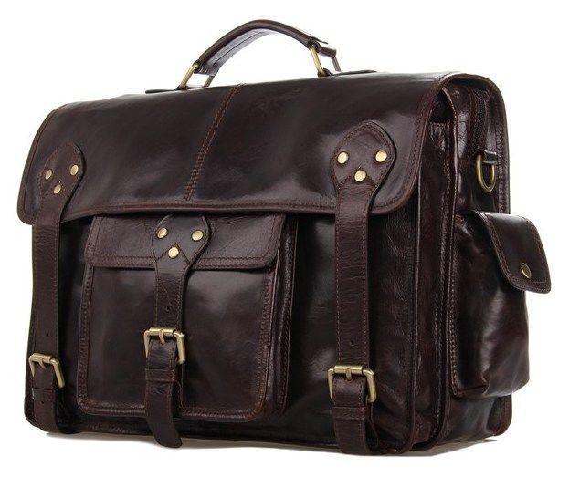 Сумка мужская Vintage 14238 коричневая