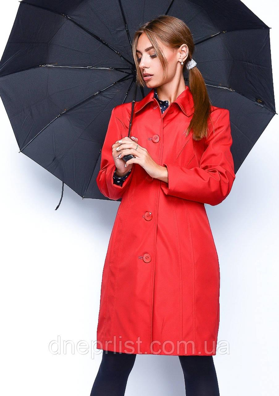 Плащ женский №7 (красный)