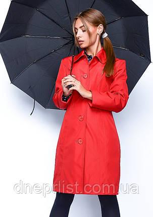 Плащ женский №7 (красный), фото 2