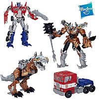 Набор трансформеров Оптимус Прайм и Гримлок - Optimus Prime&Grimlock, TF4, Voyager, Hasbro
