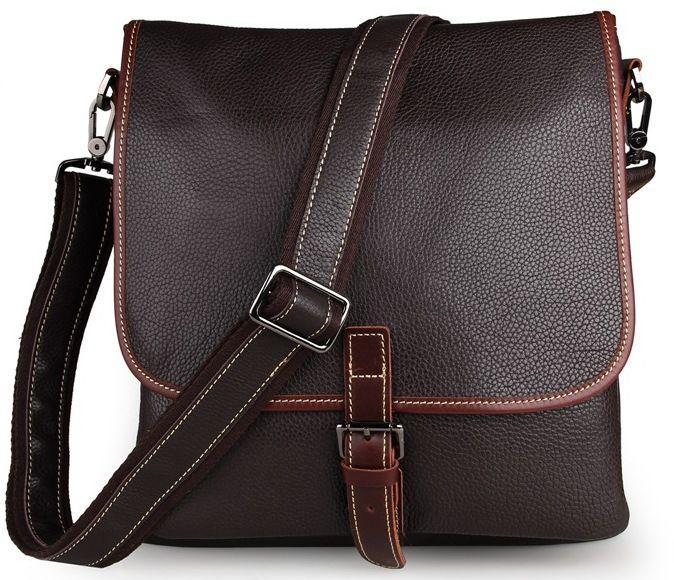 Сумка мужская Vintage 14257 коричневая