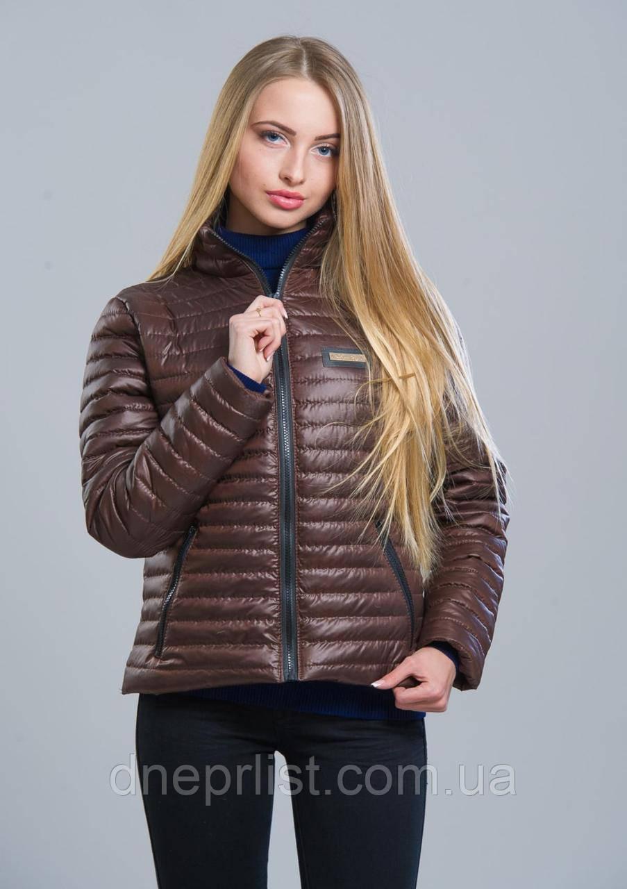 Куртка женская №5 (шоколад)